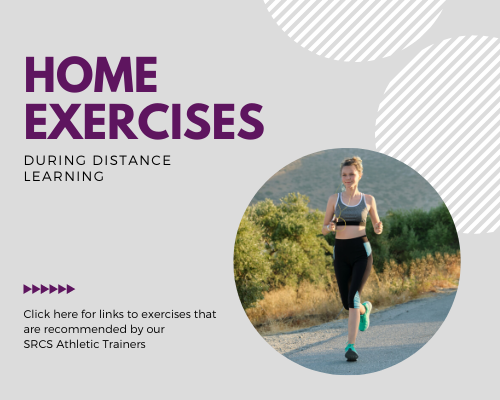 Home exercise page link